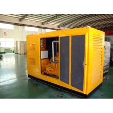 600kw super silencioso silencioso gas a prueba de sonido conjunto de generadores