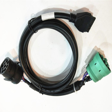 J1939 Female Type Auto Diagnostic OBD2 Wire Assembly