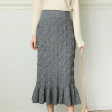 Knitted Midi Skirt Factory Wholesale
