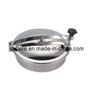Aço inoxidável 316L sanitário redonda aparafusadas