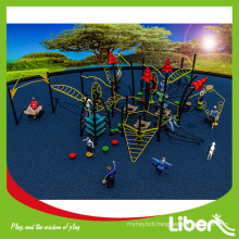 Fitness Cluster series outdoor climbing playground equipment LE.NT.004