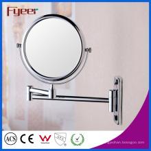 Espejo de maquillaje montado en la pared plegable doble Fyeer lateral (M0108)