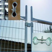 Valla de seguridad / valla temporal al aire libre / paneles de valla temporal estándar de Australia