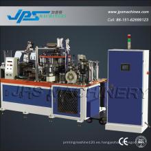 Jps-12/22 Copiadora automática de papel de control de PLC que forma la máquina