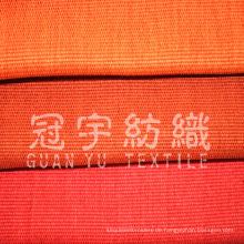 Synthetisches Leinengewebe aus 100% Polyester für die Inneneinrichtung