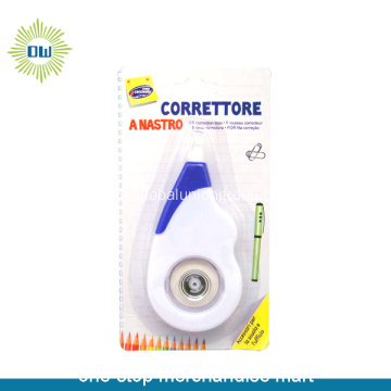 Colored Plastic Correction Tape