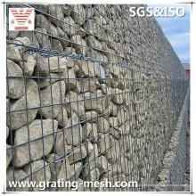 PVC beschichtete / geschweißte / Gabion Käfige / Gabion Körbe für das Erarbeiten der Wände