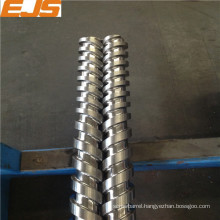 extruder and injection molding steel 1.8550 screw barrel