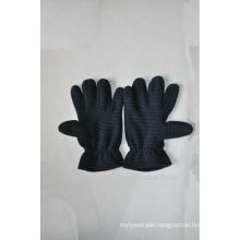 Wholesale 100% polyester winter glove for daily life