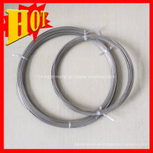 Gr9 Titanium Spool Wire con precio de fábrica