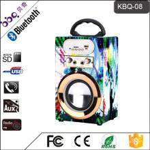 Сверхзвуковой портативный Перезаряжаемые диктор караоке с USB/памяти SD/AUX в/FM радио