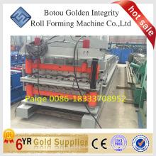 Perfil máquina de fabricação de folhas de telhado de metal, máquina de perfis
