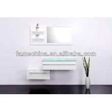 Wall mounted Double french bathroom vanity