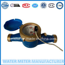 Brass Cold Water Meter with Pulse Output (Dn15-25mm)