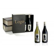 Nouvelle boîte à vin en carton design pour emballage à bouteilles simples