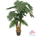 Decorative indoor and outdoor green plastic plant