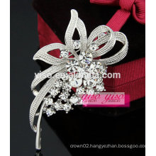 foreign trade classic wedding CZ stone brooch