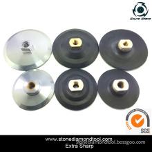 Diamond Aluminum Flexible Backer Pad