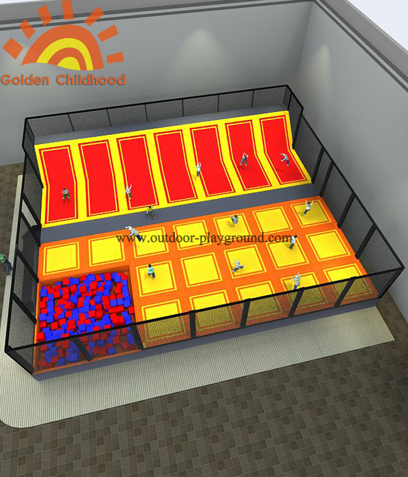 free-zone-indoor-trampoline-park_Gorgeous free zone trampoline for Kids CH-ST160054_s
