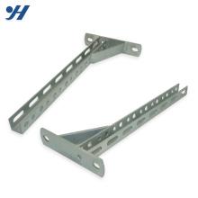 Suporte de prateleira dobrável de aço inoxidável Strut, suporte de prateleira de metal, suporte de prateleira de parede