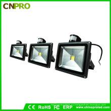 10Вт/20Вт/30Вт/50W pir Датчик светодиодный Прожектор