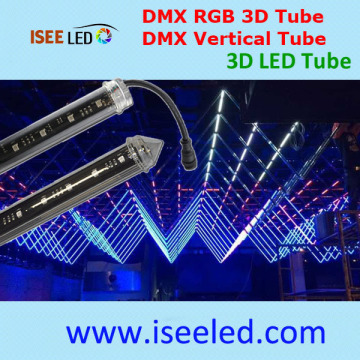 Tubo programable de Dmx Light 3d para la decoración del club