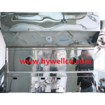 Mesin Pengeringan Butiran Fluid Bed Horizontal