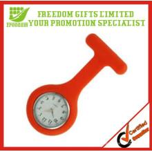 Reloj promocional de alta calidad para enfermera de silicona