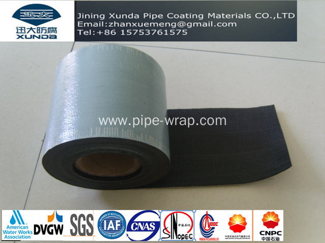 Heavy Duty Pipeline Bitumen Butyl Adhesive Tape