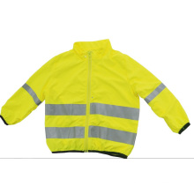 Chaqueta de seguridad reflectante de alta visibilidad para niños