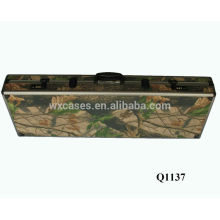 new arrival military aluminum gun case with foam inside manufacturer hot sell
