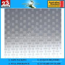 3-6mm Am-57 dekorative Säure geätzte mattierte Kunst Architekturspiegel
