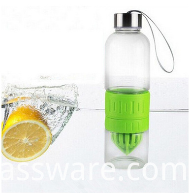 2016 new products glass water bottle