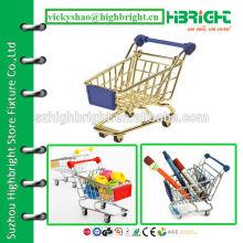 Carrinho de compras de carro de brinquedo de supermercado