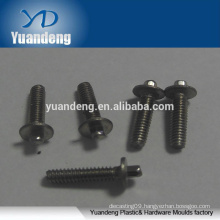OEM stainless steel outside hexagonal screw with washer