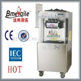 Hot sale popular floor floor stand wheeled soft ice cream machine / maker
