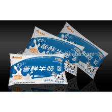 Black white PE packaging film for milk bag