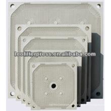 Placa de filtro de membrana de prensado de filtro Leo