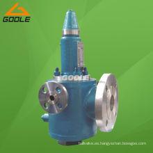 Válvula de seguridad de elevación completa equilibrada de contrapresión tipo fuelle con camisa (GBWA42Y)