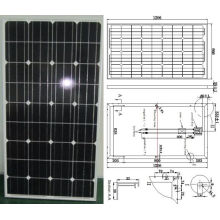 18V 130W Monocrystalline Solar Panel PV Module with TUV ISO Certificate