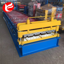 Color steel cold roof panel steel sheet roll forming machine