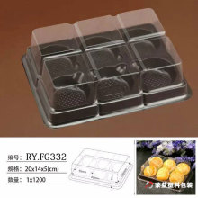 PVC Box Transparent Plastic Blister Packaging Box