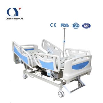 Appareils médicaux Lit d'hôpital électrique à 5 fonctions