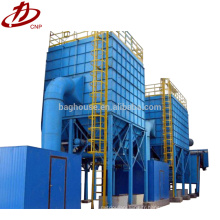 Collecteur de poussière de sac filtrant Conception de filtre de sac industriel