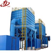 Coletor de pó de saco de filtro design de filtro de saco industrial