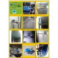 Válvula de bola de agua operada por motor de latón de 2 vías para HVAC
