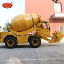 Self Mixing Loading Concrete Mixer Truck For Sale