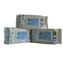 Bamboo Fiber Biodegradable Baby Wipes