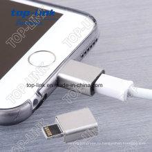 5pin Пружинный нагруженный латунный Pogo Pin Магнитный адаптер для зарядки смартфона