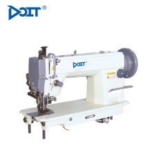 DT 0303 single needle top and bottom feed lockstitch flatbed sewing machine with automatic edge cutting